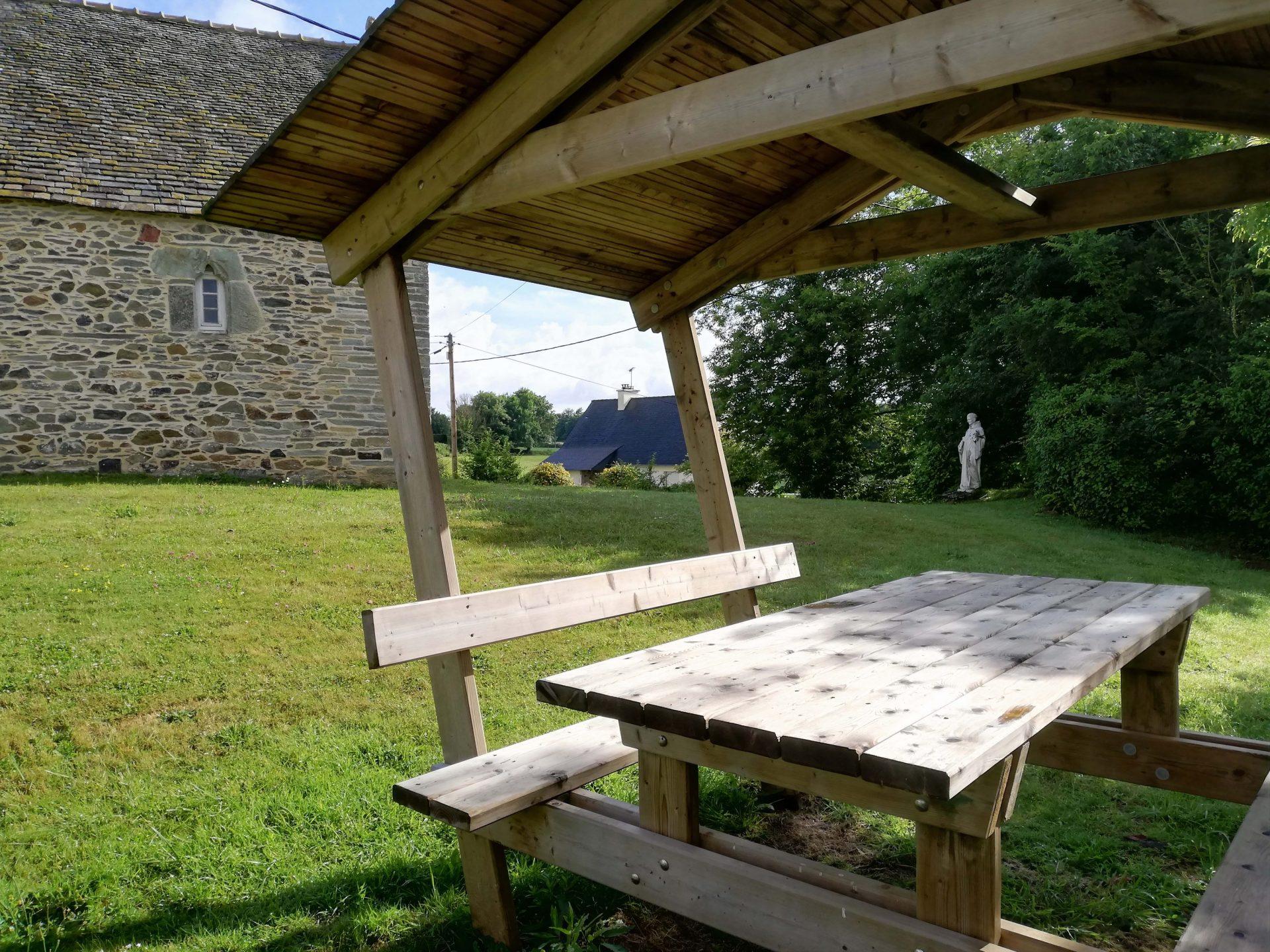 Tables de pique-nique à Locquirec